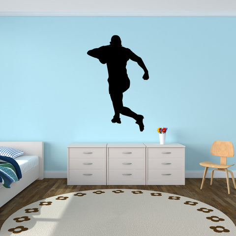 Rugby Wall Decal Sticker 3