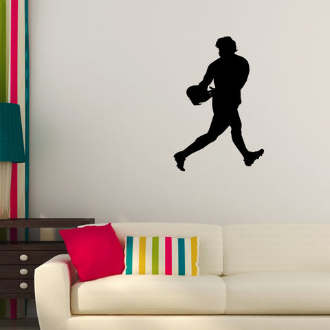 Rugby Wall Decal Sticker 4