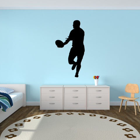 Rugby Wall Decal Sticker 9