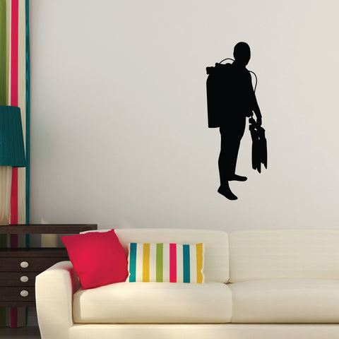 Scuba Diving Wall Decal Sticker 2