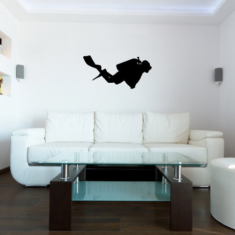 Scuba Diving Wall Decal Sticker 4