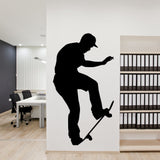 Skateboarding Wall Decal Sticker 9
