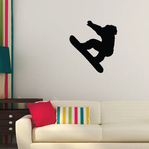 Snowboarding Wall Decal Sticker 1