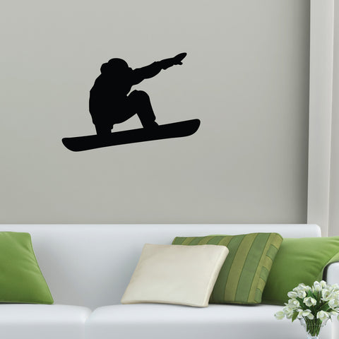 Snowboarding Wall Decal Sticker 2