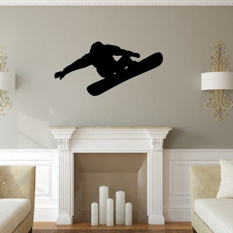 Snowboarding Wall Decal Sticker 3