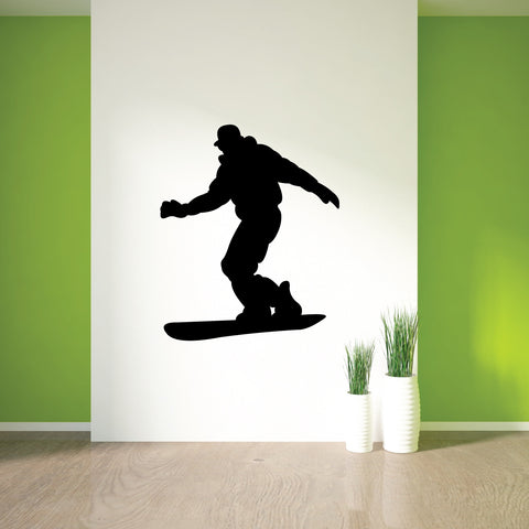 Snowboarding Wall Decal Sticker 4