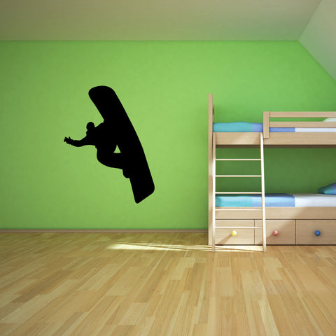 Snowboarding Wall Decal Sticker 6