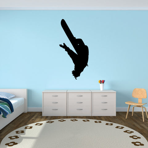 Snowboarding Wall Decal Sticker 7