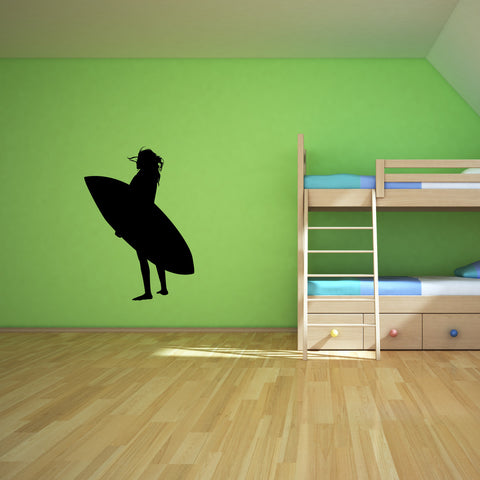 Surf Surfing Wall Decal Sticker 1