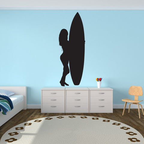 Surf Surfing Wall Decal Sticker 3