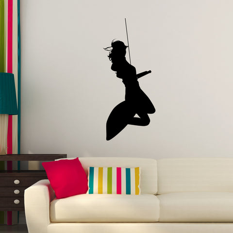 Surf Surfing Wall Decal Sticker 4
