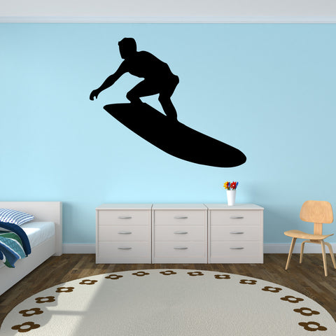 Surf Surfing Wall Decal Sticker 7