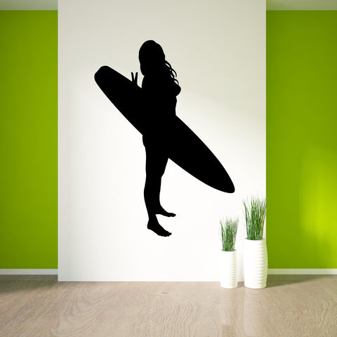 Surf Surfing Wall Decal Sticker 8