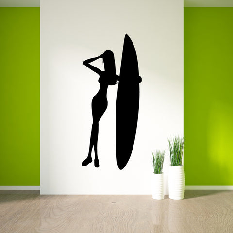 Surf Surfing Wall Decal Sticker 10