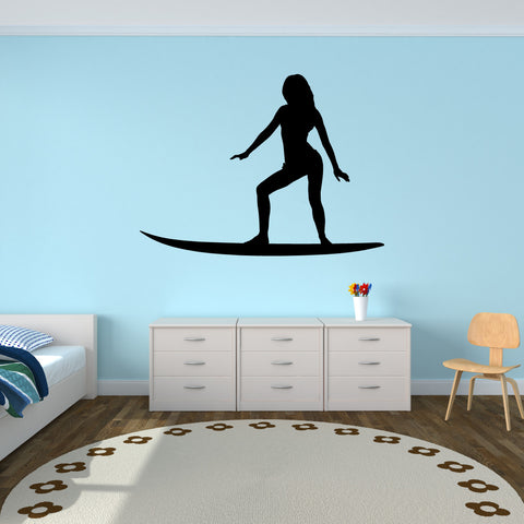 Surf Surfing Wall Decal Sticker 11