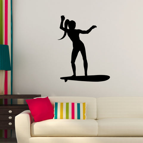 Surf Surfing Wall Decal Sticker 13