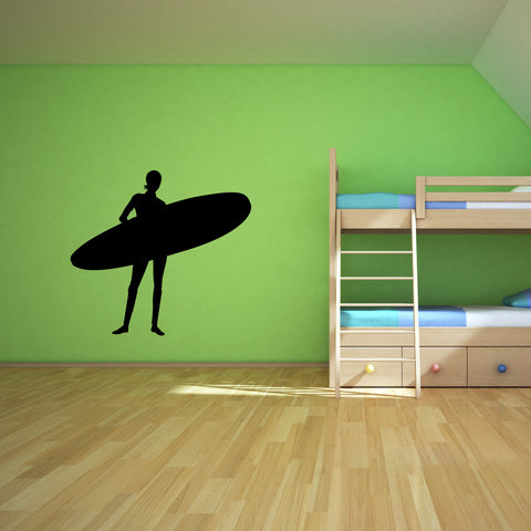 Surf Surfing Wall Decal Sticker 14