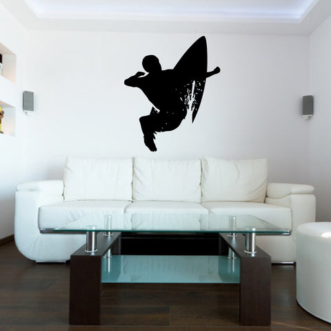 Surf Surfing Wall Decal Sticker 17