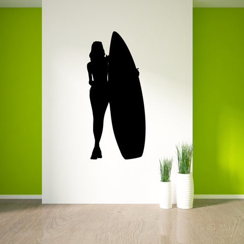 Surf Surfing Wall Decal Sticker 19