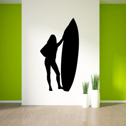 Surf Surfing Wall Decal Sticker 25