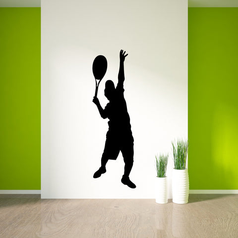 Tennis Wall Decal Sticker 10