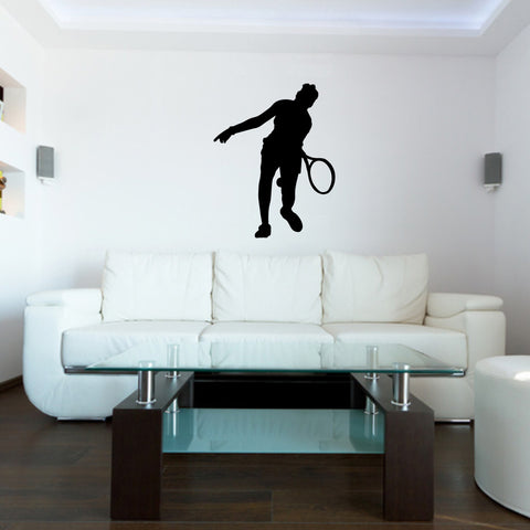 Tennis Wall Decal Sticker 18