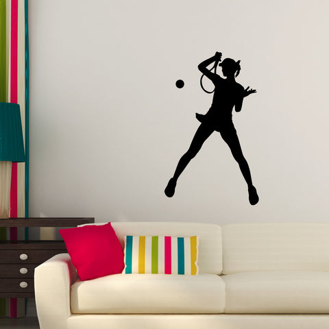 Tennis Wall Decal Sticker 30