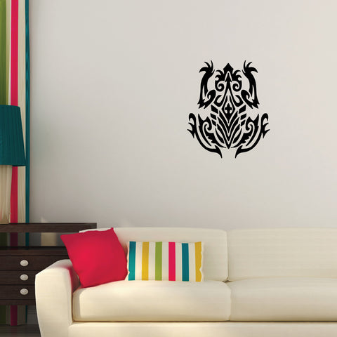 Frog Tribal Wall Decal Sticker 1