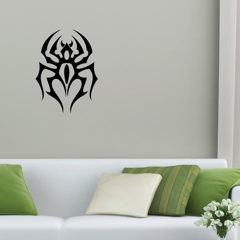 Spider Tribal Wall Decal Sticker 2