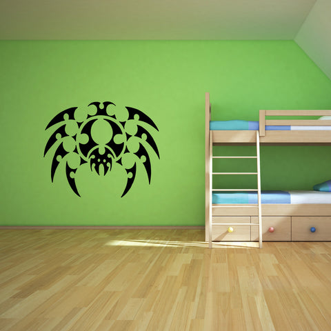 Spider Tribal Wall Decal Sticker 3