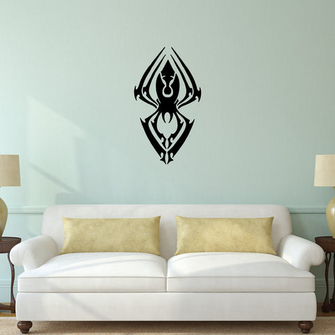 Spider Tribal Wall Decal Sticker 4