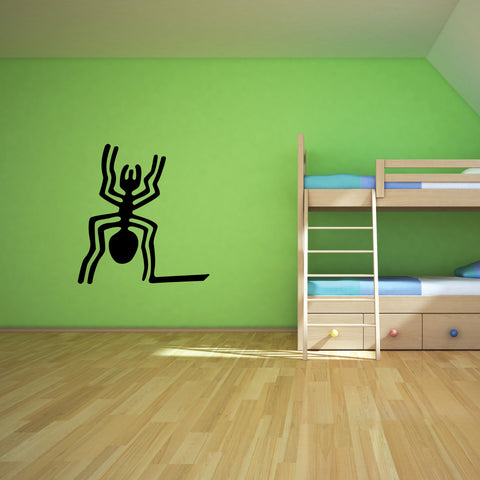 Nazca Lines Spider Tribal Wall Decal Sticker 7