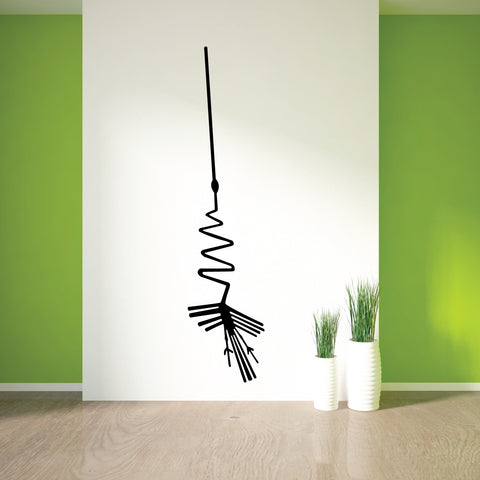 Nazca Lines Alcatraz Tribal Wall Decal Sticker 9