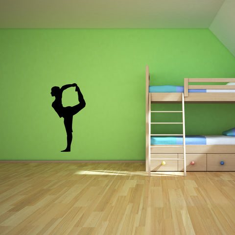 Yoga Meditation Wall Decal Sticker 1