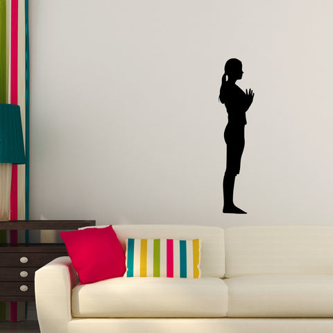 Yoga Meditation Wall Decal Sticker 2