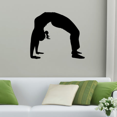 Yoga Meditation Wall Decal Sticker 4