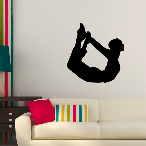 Yoga Meditation Wall Decal Sticker 6