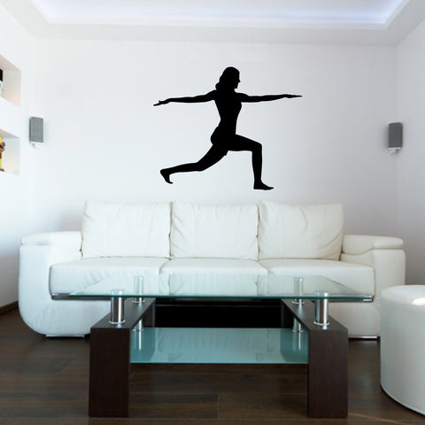 Yoga Meditation Wall Decal Sticker 8