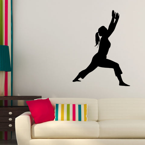 Yoga Meditation Wall Decal Sticker 9