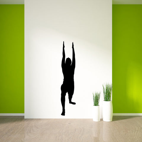 Yoga Meditation Wall Decal Sticker 10
