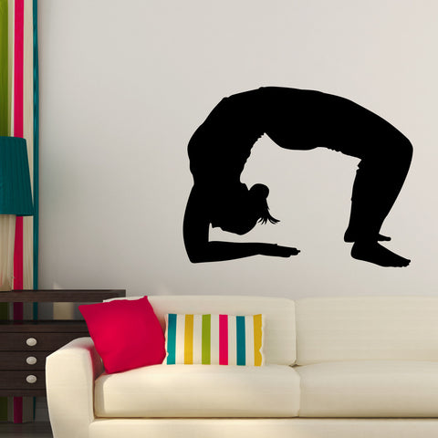 Yoga Meditation Wall Decal Sticker 13