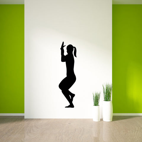 Yoga Meditation Wall Decal Sticker 14
