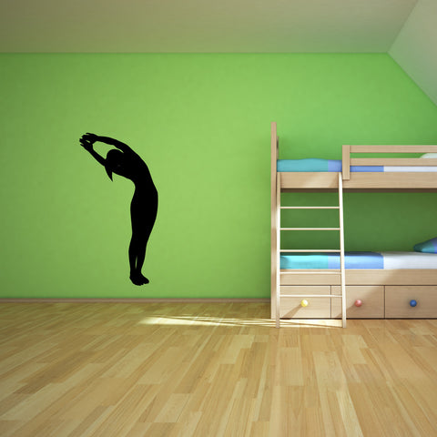 Yoga Meditation Wall Decal Sticker 15