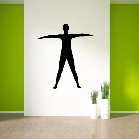 Yoga Meditation Wall Decal Sticker 18
