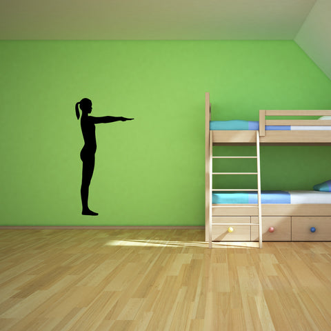 Yoga Meditation Wall Decal Sticker 21