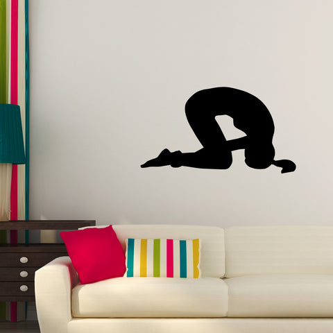 Yoga Meditation Wall Decal Sticker 27