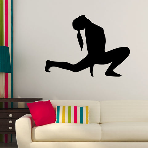 Yoga Meditation Wall Decal Sticker 29