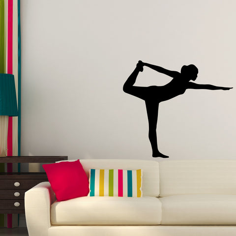 Yoga Meditation Wall Decal Sticker 33