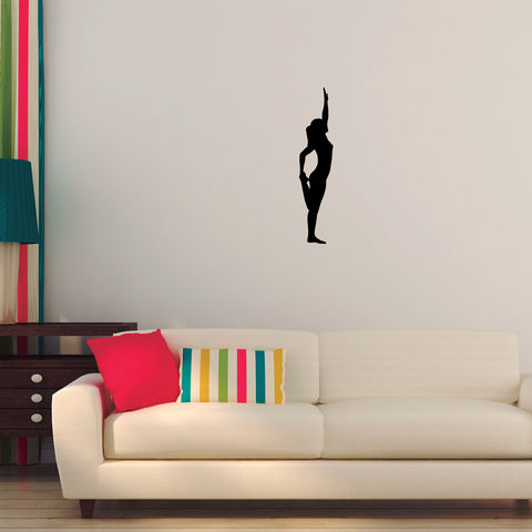 Yoga Meditation Wall Decal Sticker 43