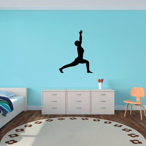 Yoga Meditation Wall Decal Sticker 49